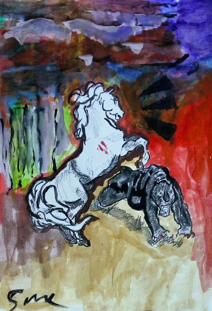Pouria Sahne - Untitled