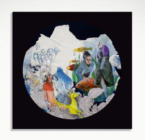 """Shokoufeh Karimi visual artist of Iran"""