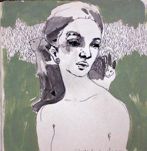 """Shokoufeh Karimi contemporary artist at sheydaei gallery"""